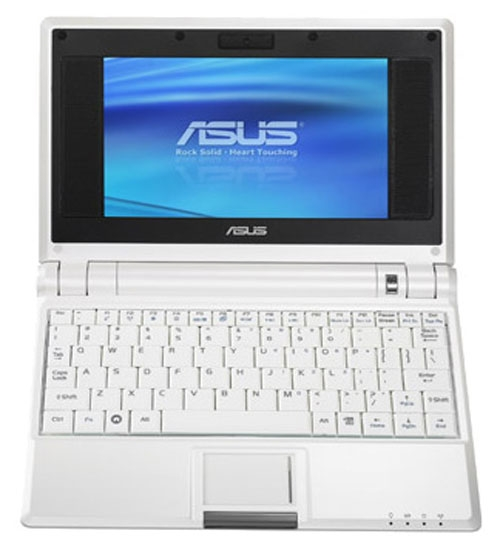 Asus A4G (Eee PC 701) 7' Intel Cel M Ultra Low Volt, 512MB, Flash 4GB, Intel GMA 900, DVMT, WF, WXP