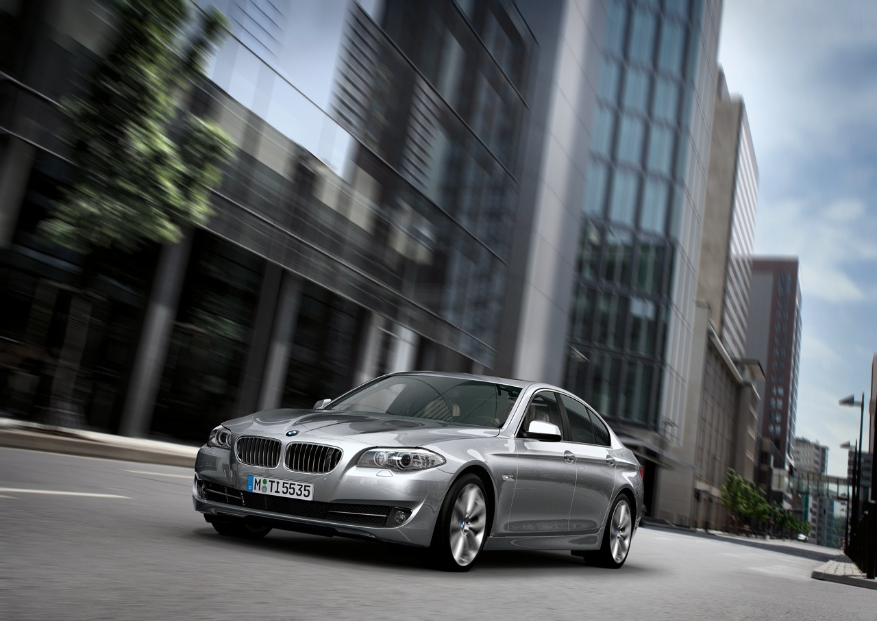 Новый BMW 5 series Saloon 2010